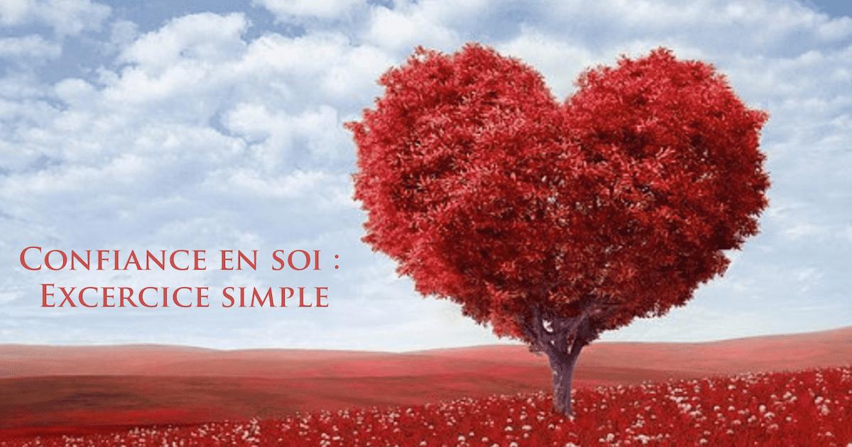 Confiance en soi: exercices simples