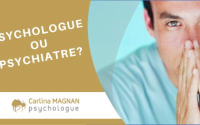 Différences entre Psychologue et Psychiatre